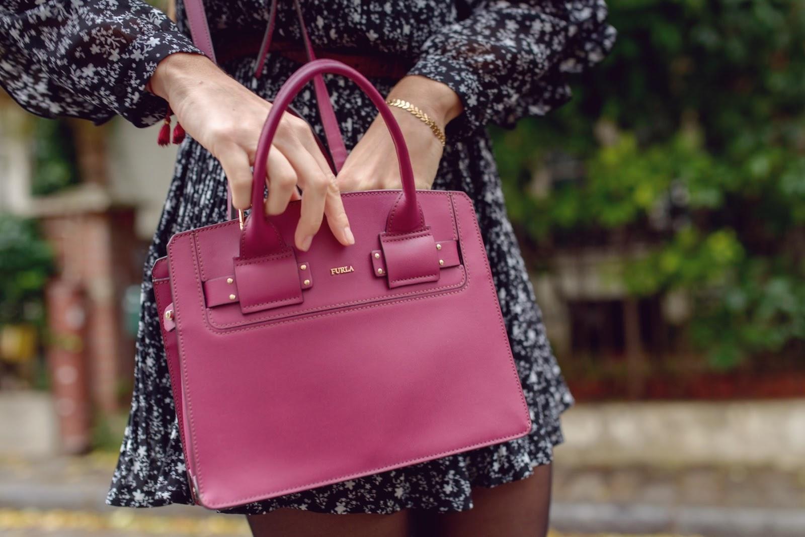 sac furla violet