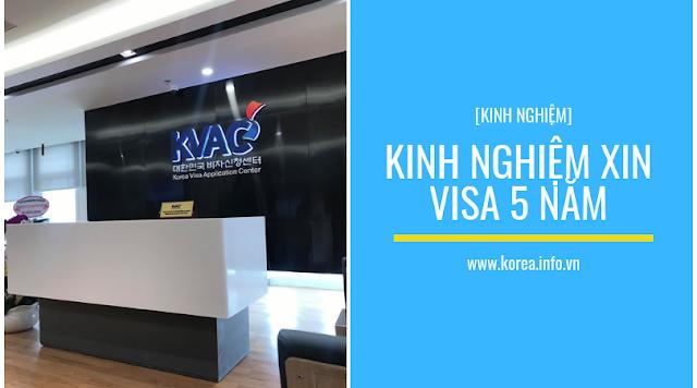 [Review] Kinh nghiệm xin visa 5 năm Hàn Quốc tại trung tâm tiếp nhận visa mới KVAC