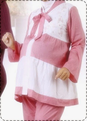 Model Baju Hamil Muslimah Pesta Trendy