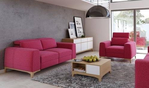 Người mệnh Hoả nên chọn sofa phòng khách màu gì?