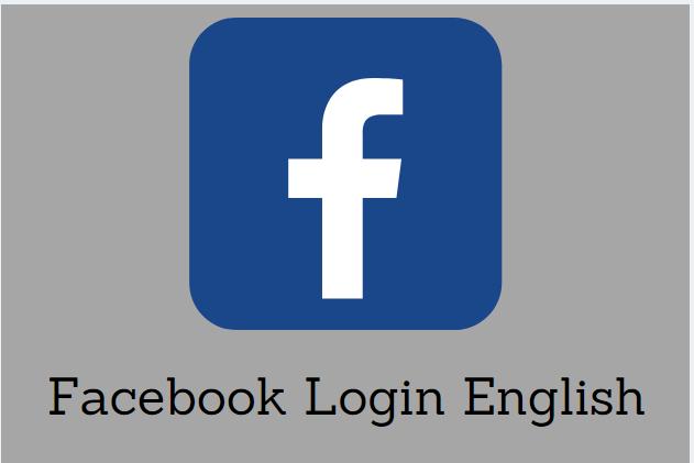 Facebook Login English