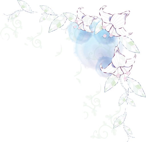 Realistic Flowers: Free Scrapbooking Corners for Weddings, Anniversaries or Engagement Parties.