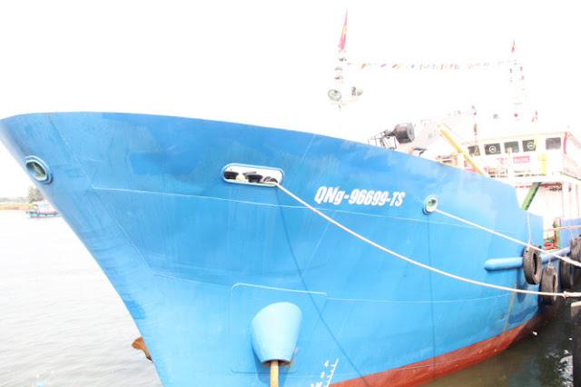 Tàu hậu cần dịch vụ nghề cá Lý Sơn 168 là tàu hậu cần hiện đại nhất Việt Nam hiện nay