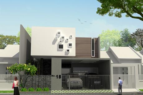 info rumah dan interior: desain rumah minimalis modern