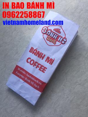 Tại sao phải in túi giấy đựng bánh mì?