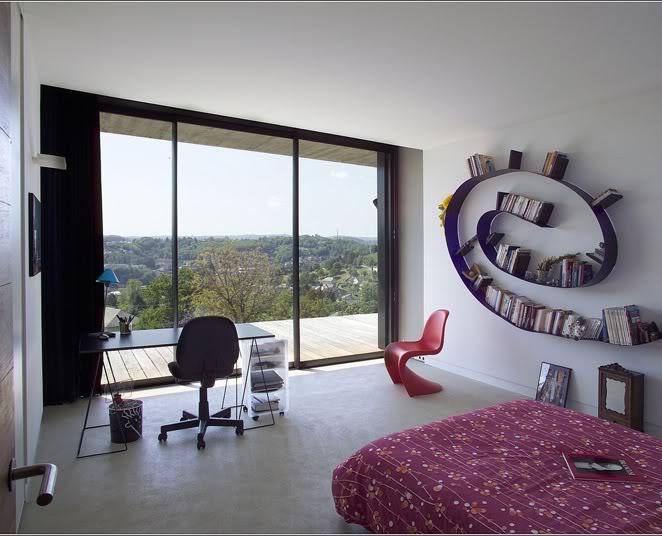 univers maison chambre contemporaine. Black Bedroom Furniture Sets. Home Design Ideas