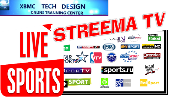 Download Free Streema IPTV For Watch Live Sports on Android,PC or Other Device Through Internet Connection with Using WebBrowser.