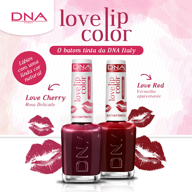 Batom Tinta Love Lip Color DNA Italy