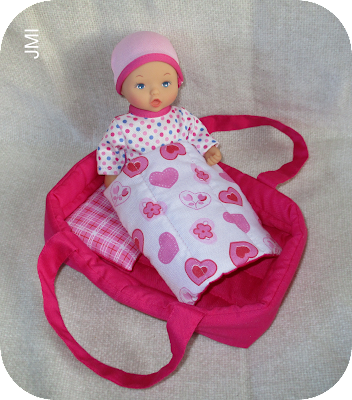 How to make a carry cot for a mini baby doll