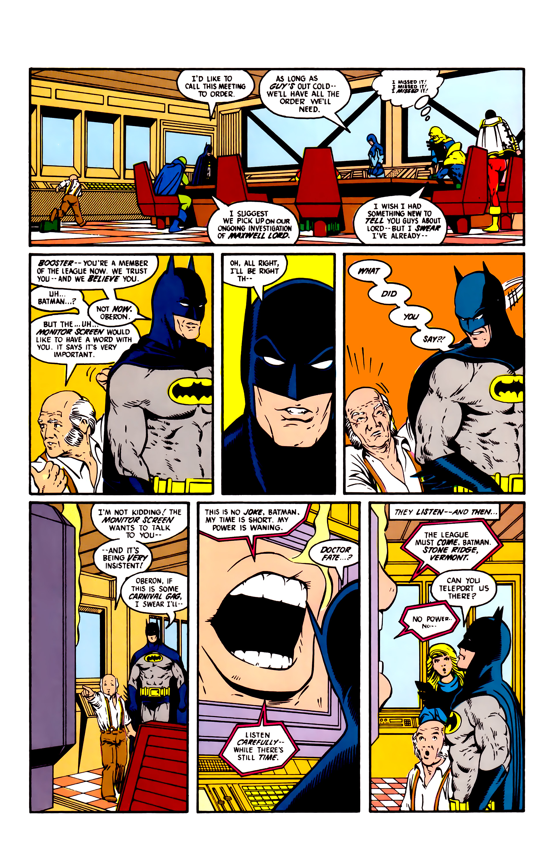 Read online Justice League (1987) comic -  Issue #5 - 16