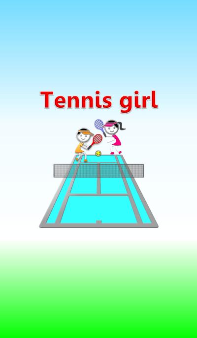 Tennis girl 5