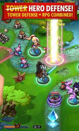 Magic Rush: Heroes v1.1.90 Apk for android Terbaru 2016 unlucked diamonds