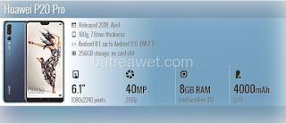 7. Huawei P20 Pro