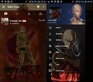 BBM Mod One Punch Man apk v3.2.5.12