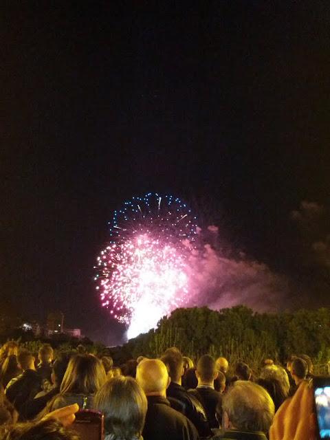 Las Fallas, Valencia, Spain - fireworks