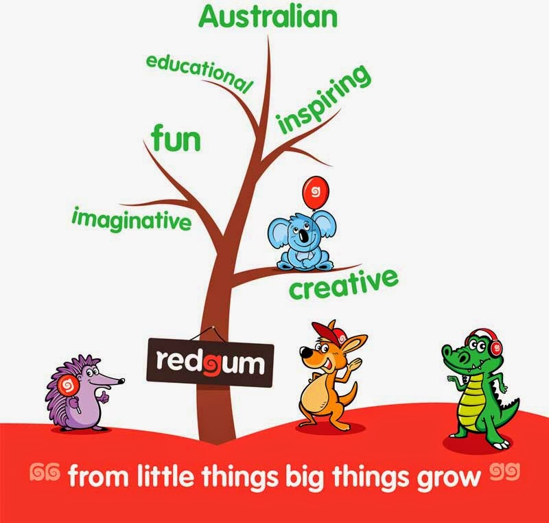 Kids' Book Review: Guest Post: Redgum Book Club - Inspiring