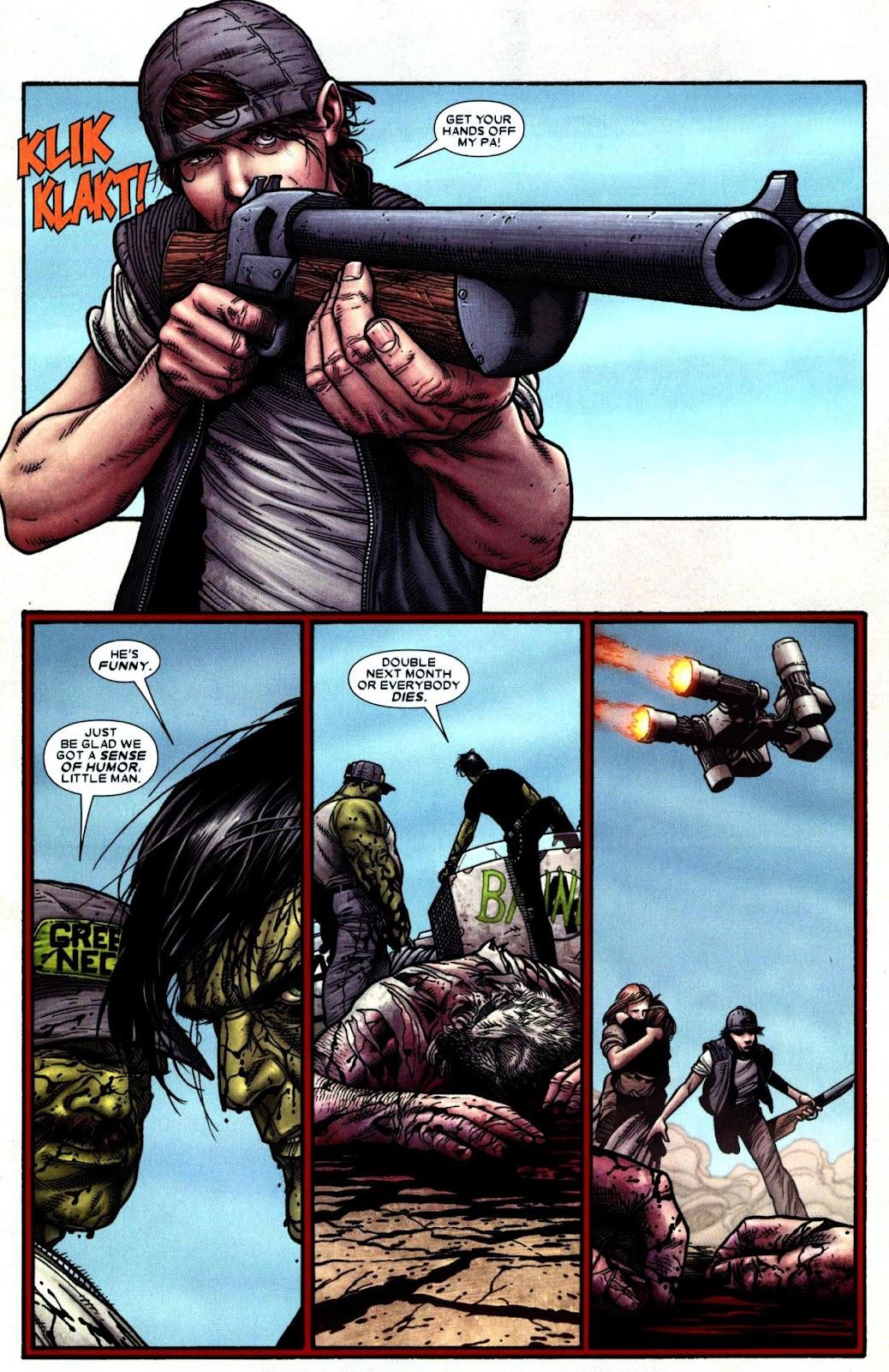 Read online Wolverine (2003) comic -  Issue #66 - 16