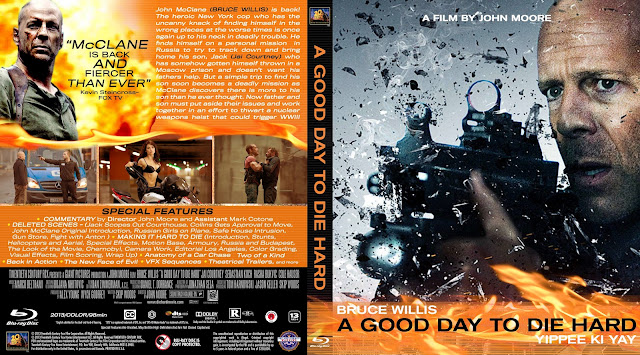 A Good Day To Die Hard Bluray Cover