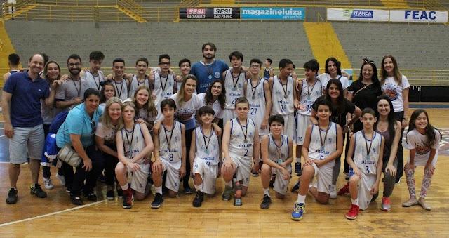 Minastenistas ficaram com o bronze no sub13 [Divulgação/Torneio de Franca]