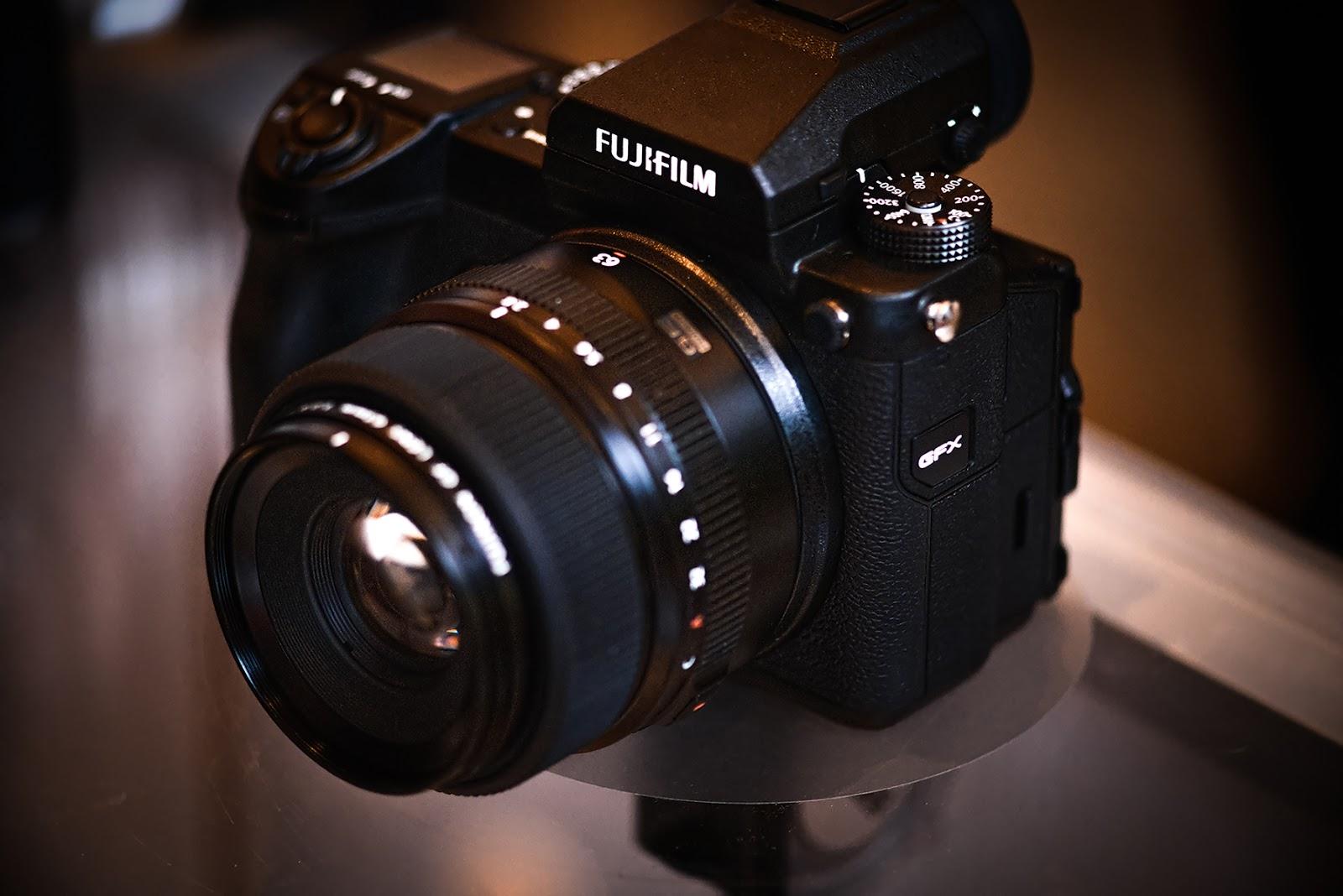Fujifilm GFX 50s с объективом GF 63mm f/2.8 R