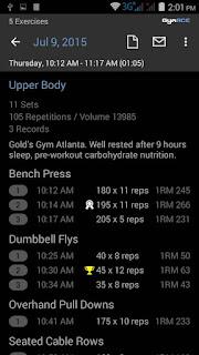 تحميل برنامج  GymACE Pro: Workout & Body Log v1.8.3 – برنامج مجموعة أفضل تمارين الرياضية للأندرويد