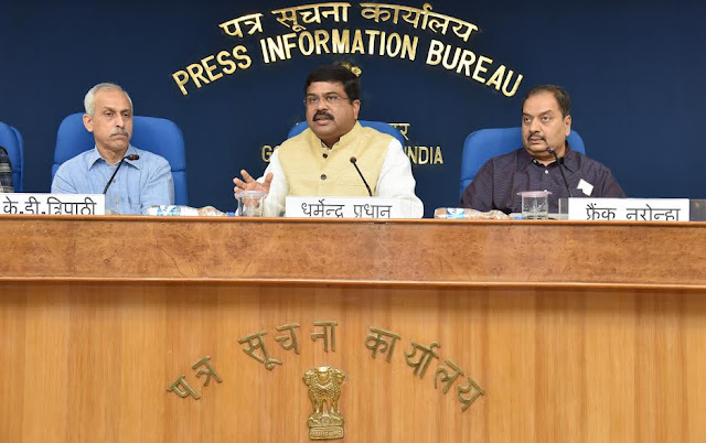 70669 More than one crore connections released under PMUY: PNG Minister Dharmendra Pradhan (Source: OdishaDiary)