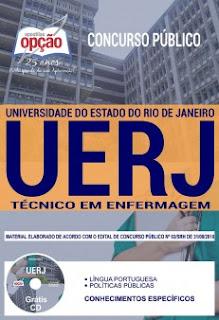 Download Apostila Concurso UERJ 2018 PDF - Técnico Enfermagem
