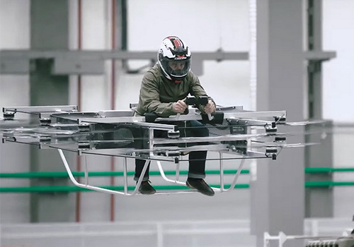 Tinuku Kalashnikov build all-electric flying car