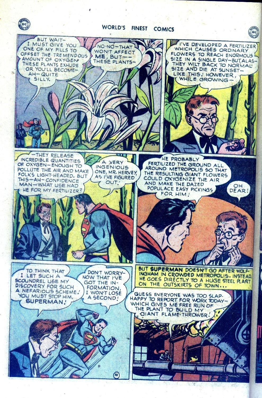 Read online World's Finest Comics comic -  Issue #43 - 12