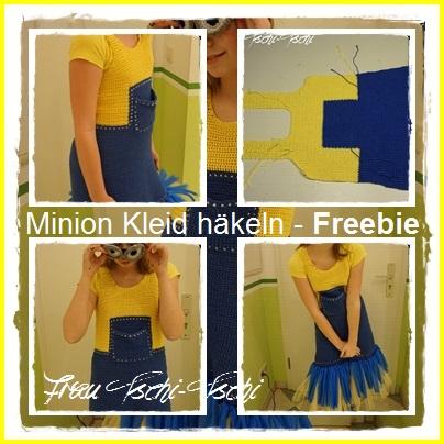 Frau Tschi Tschi Kleid Minion Freebie