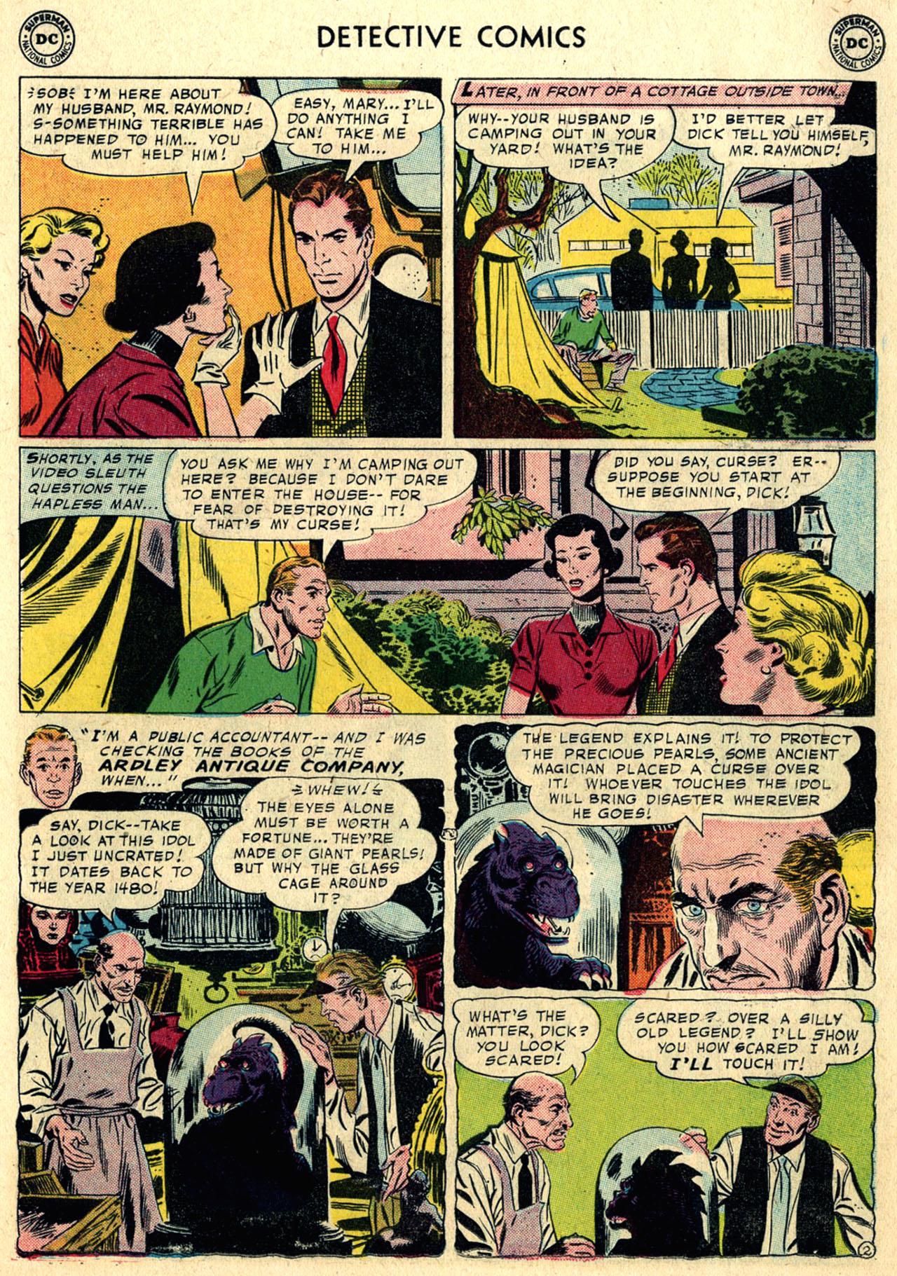 Read online Detective Comics (1937) comic -  Issue #258 - 19
