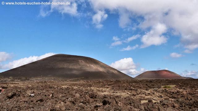 Vulkanlanschaft Lanzarote, Landschaft auf Lanzarote
