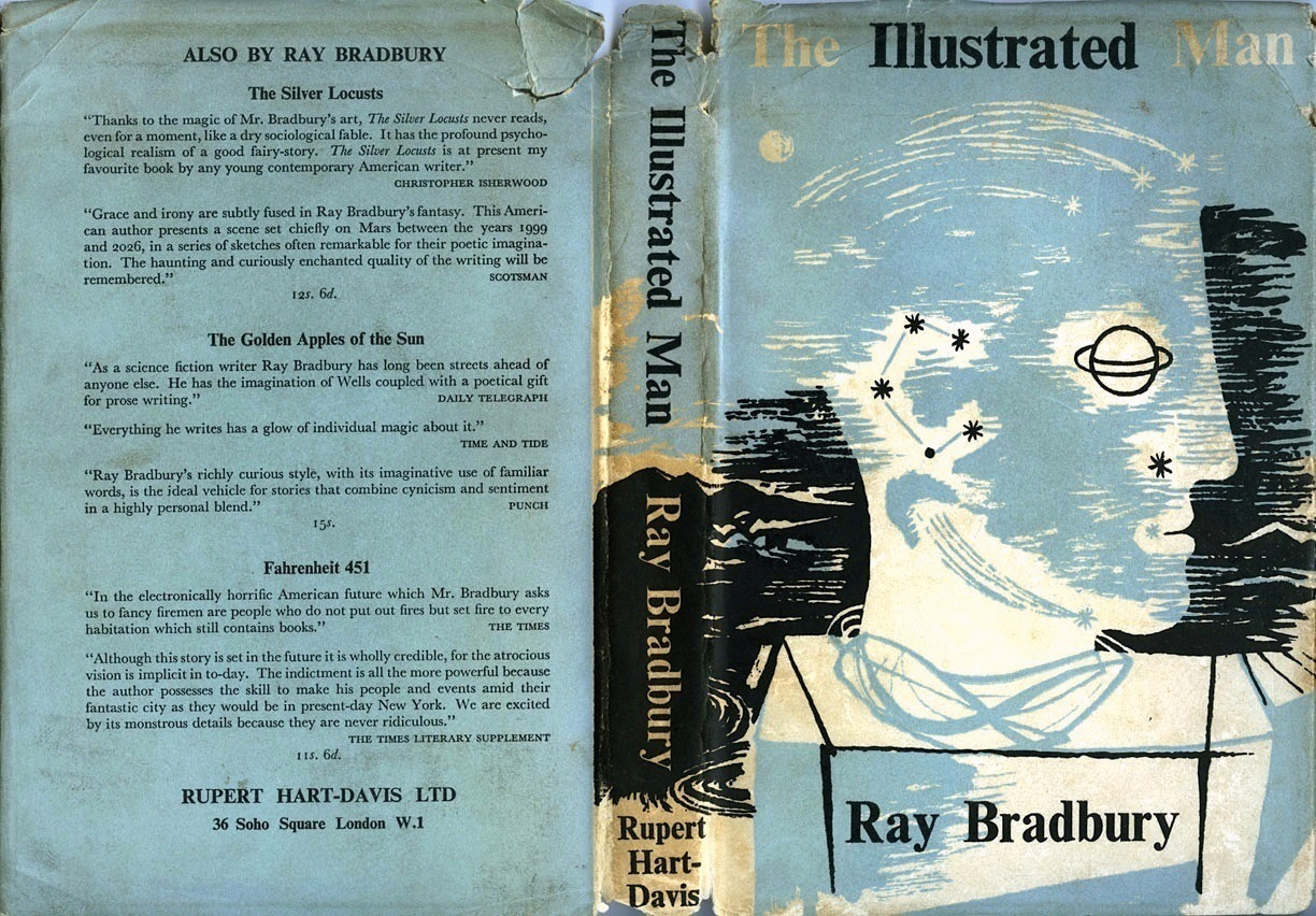 ray bradbury s the illustrated man complications Ray bradbury's passing was a loss for everyone who enjoys storytelling in all of its forms not the least of which are artists and illustrators bradbury's tone, the poetry and atmosphere of .