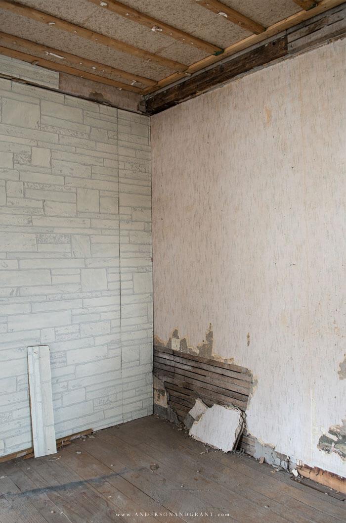 1900s original plaster walls