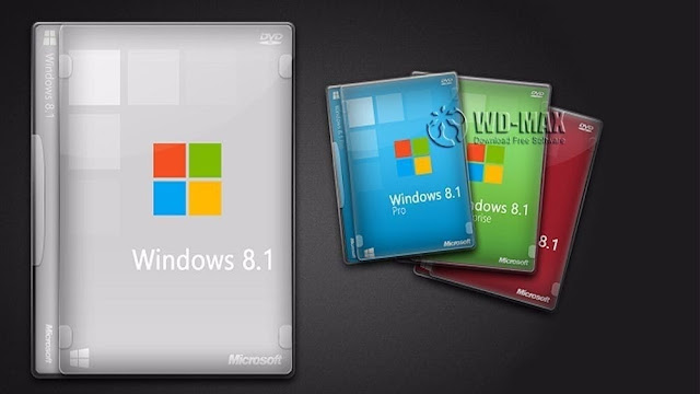 أفضل طريقة لتحميل أياً من إصدارات ويندوز 8.1 نواة 32/64 وجميع اللغات