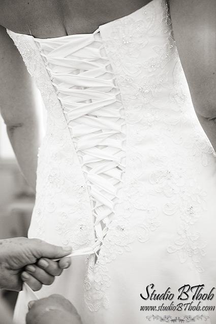 Robe de mariée lacets