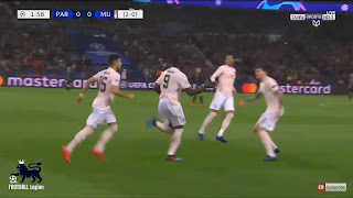 اهداف مباراة باريس سان جيرمان - مانشستر يونايتد 1-3 دوري ابطال اوروبا