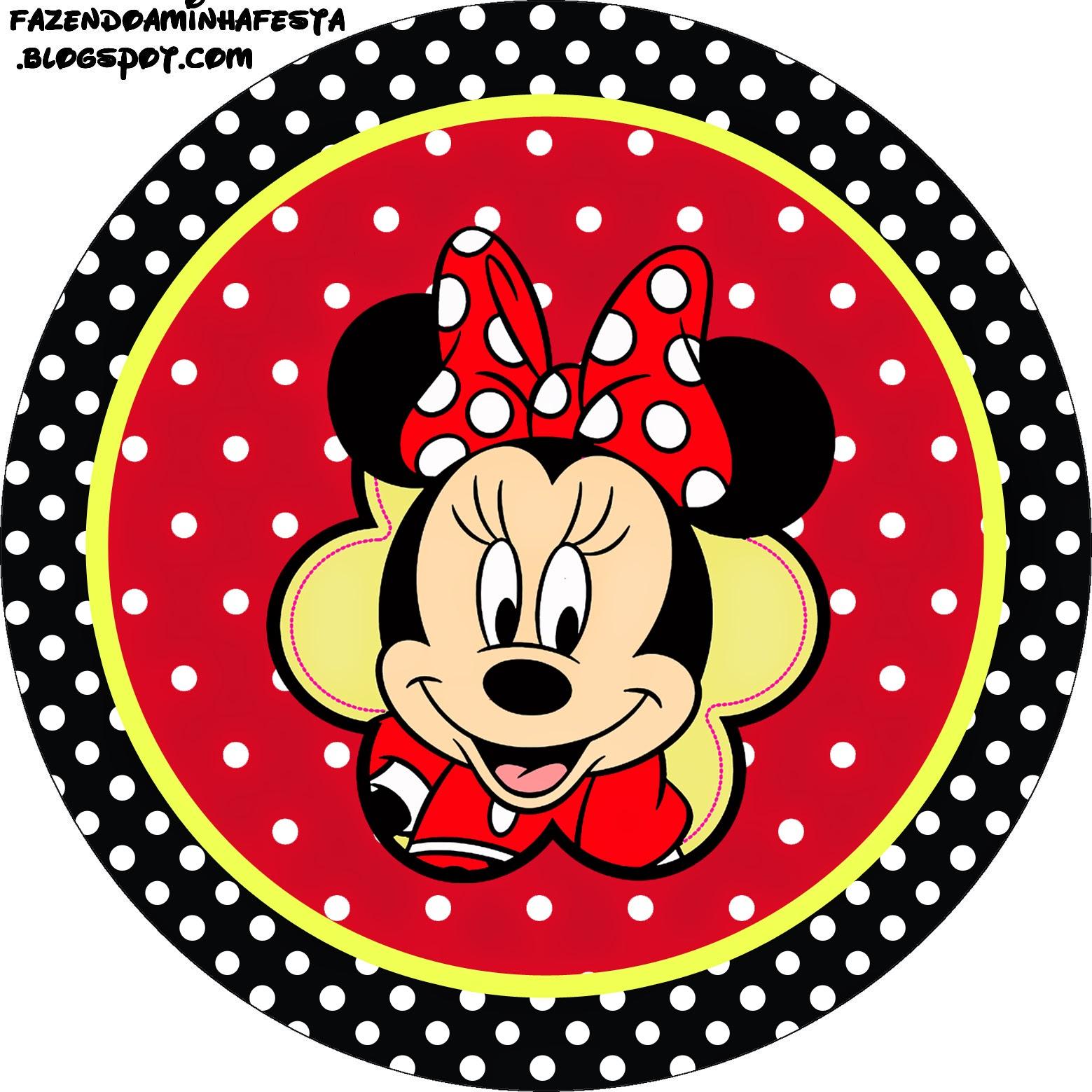 Minnie Rojo: Etiquetas para Candy Bar para Imprimir Gratis. | Ideas ...