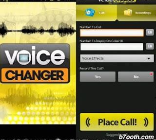 """برنامج تغيير الصوت لبنت : تطبيق """" voice changer """" للاندرويد"""