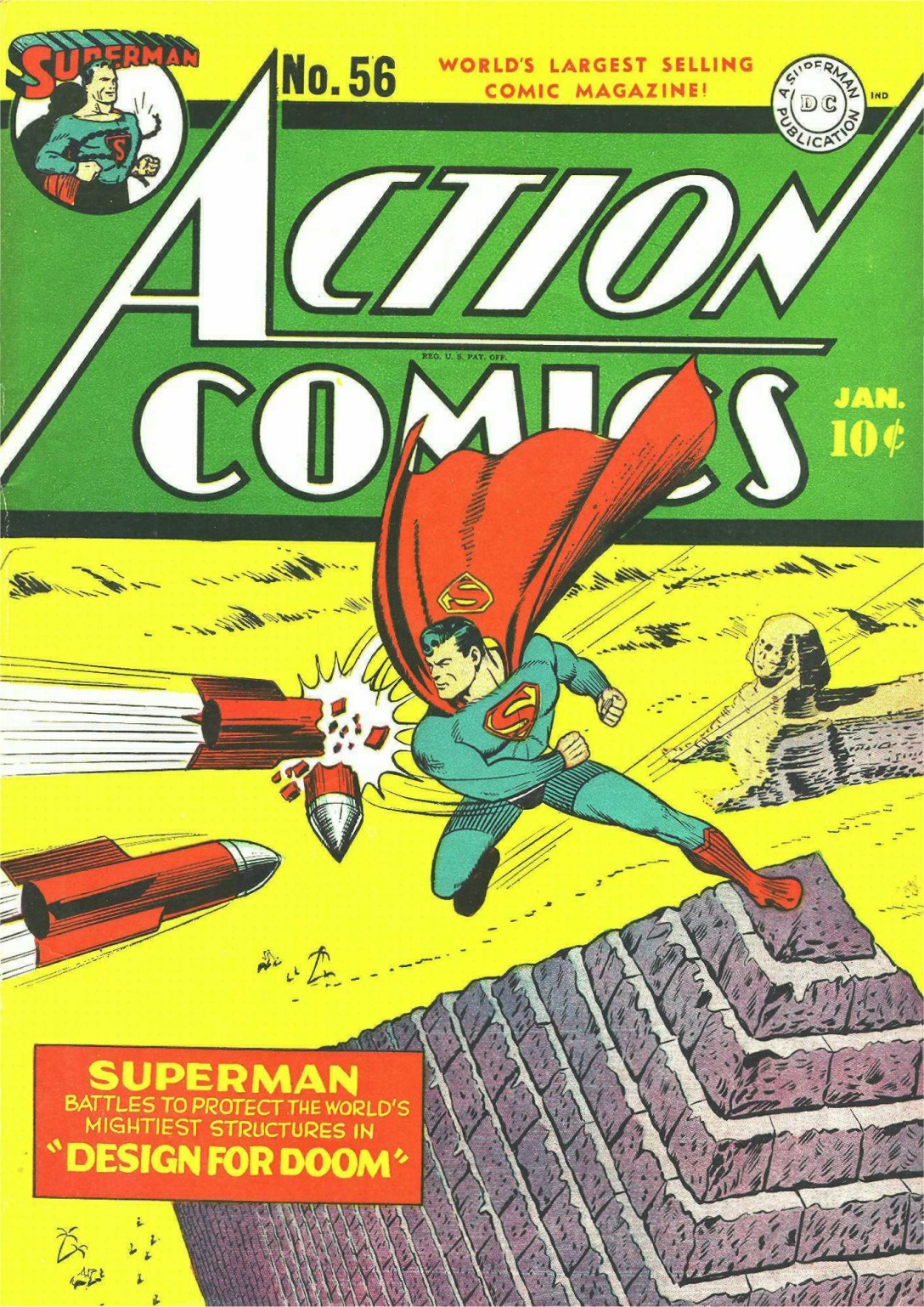 Action Comics (1938) 56 Page 1