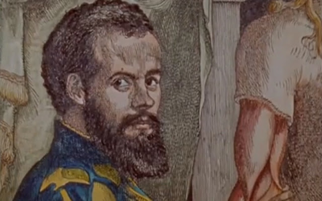 lukisan wajah ilmuwan William Harvey