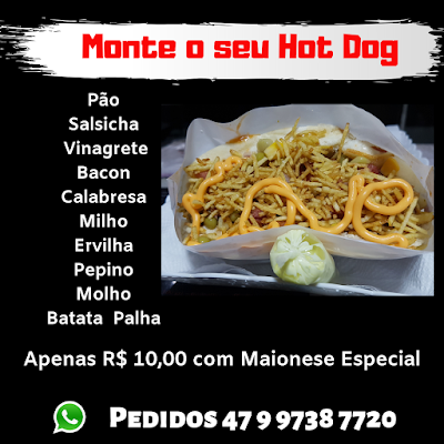 hot dog itapema