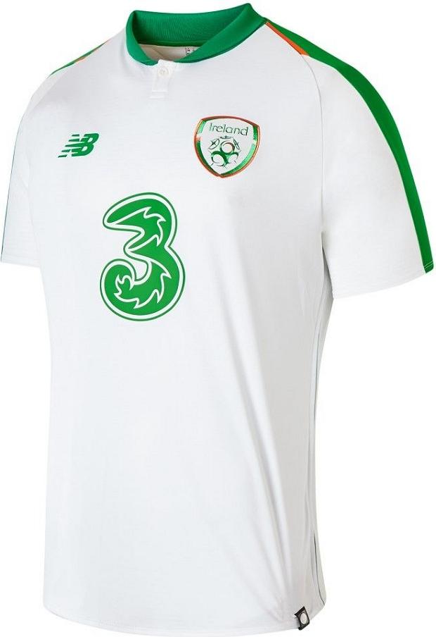 New Balance lança a camisa reserva da Irlanda - Show de Camisas 9e7a9c21502c2