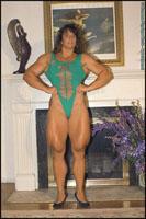 Female Bodybuilder Tina Lockwood