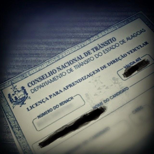 Tirar carteira CNH Em fase de teste