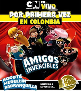 Cartoon Network En Vivo AMIGOS INVENCIBLES en Colombia