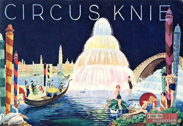 Programme de 1934 du cirque Knie