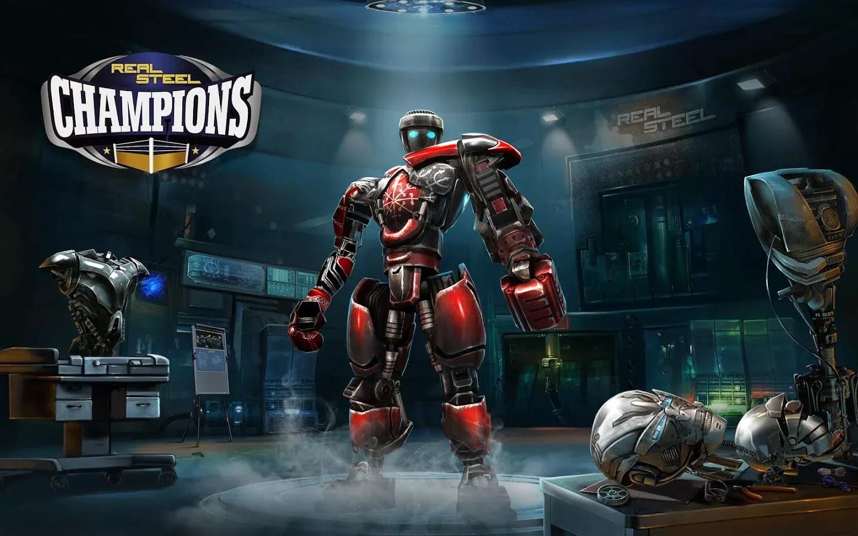 download game real steel apk data mod
