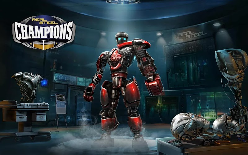 Download Real Steel Champions (Apk+ Data) Android Game For Mobiles & Tablets