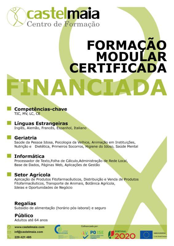 formação financiada Maia 2017